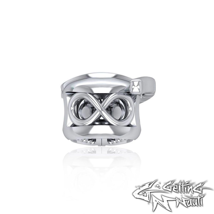 Custom Sterling Silver Dive Mask Bead Charm (Pandora Compatible)