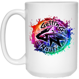 Splash White Mugs