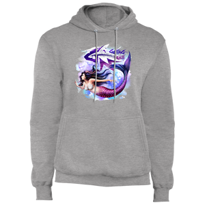 Beautiful Mermaid - Fleece Pullover Hoodie