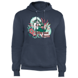 Mermaid - Fleece Pullover Hoodie