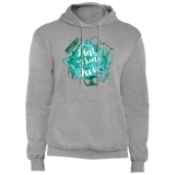 I Lost My Heart To The Ocean - Fleece Pullover Hoodie