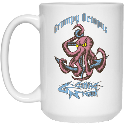 Grumpy Octopus - Mugs