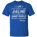 Smart Sailing - Cotton T-Shirt