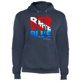 SCUBA Red, White, Blue - Fleece Pullover Hoodie