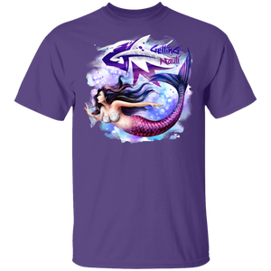 Beautiful Mermaid - Cotton T-Shirt