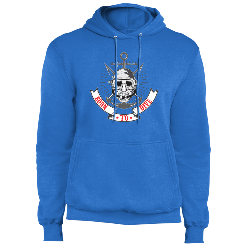 Born To Dive - Fleece Pullover Hoodie