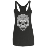 Maori Sealife Skull -  Ladies'  Racerback Tank