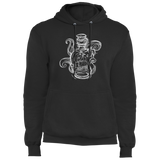 Ship In A Bottle - Fleece Pullover Hoodie