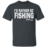 I'd Rather Be Fishing - Cotton T-Shirt