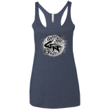 Gray Splash Ladies' Triblend Racerback Tank