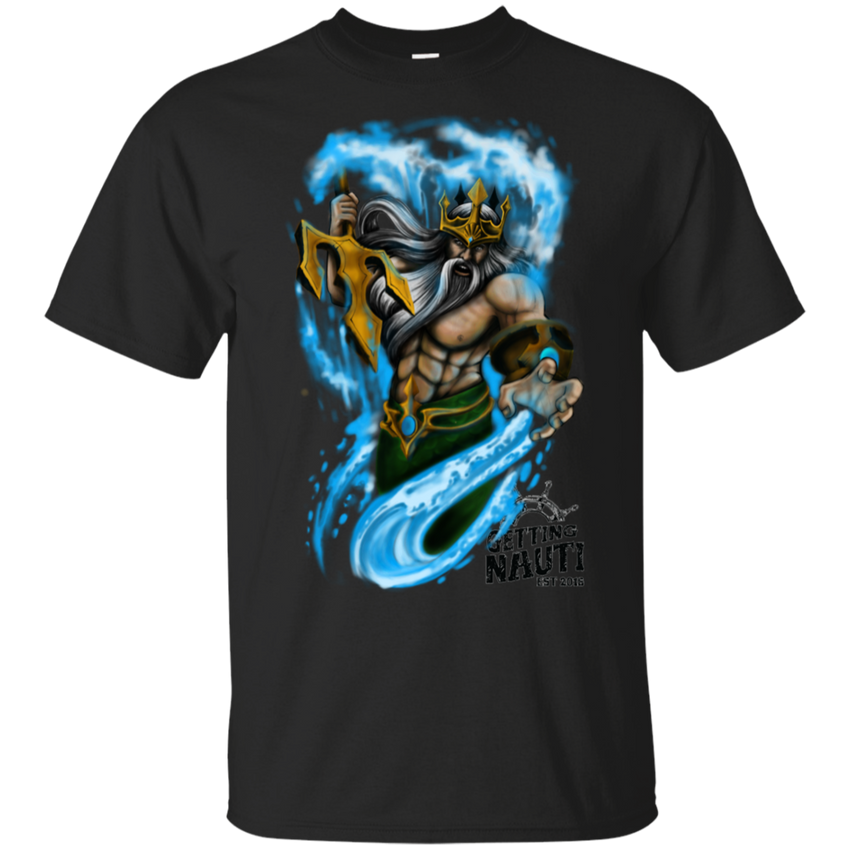 Poseidon - Cotton T-Shirt