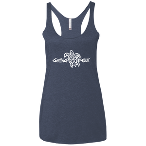 Sea Turtle Ladies' Triblend Racerback Tank