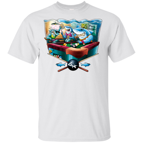 Pool Shark - Cotton T-Shirt