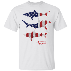 Patriot Sharks - Kids Cotton T-Shirt
