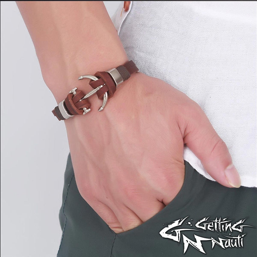 Getting Nauti Anchor Bracelet