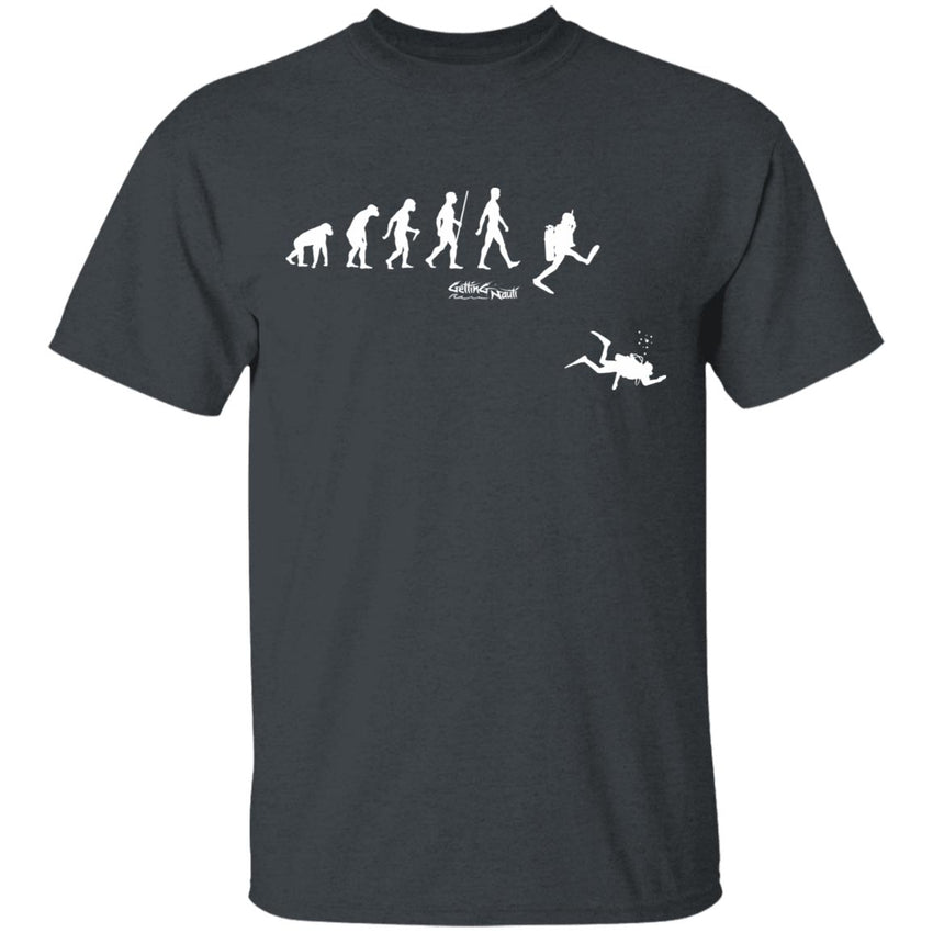 SCUBA Evolution - Cotton T-Shirt