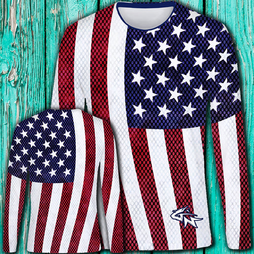 Old Glory Long Sleeve Performance Shirt