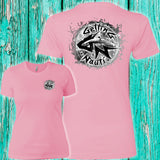 Gray Splash Ladies' Boyfriend T-Shirt