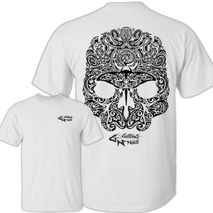 Maori Sealife Skull - Cotton T-Shirt