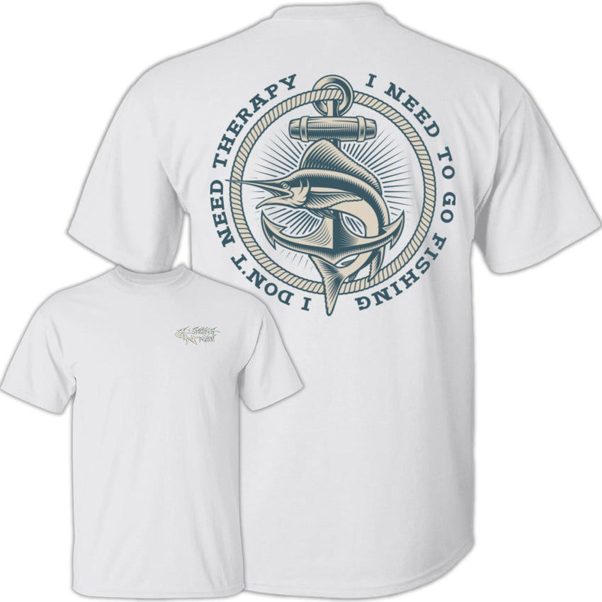 I Need To Go Fishing - Cotton T-Shirt