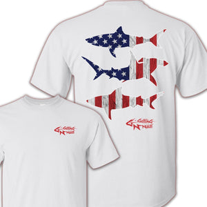 Patriot Sharks - Cotton T-Shirt