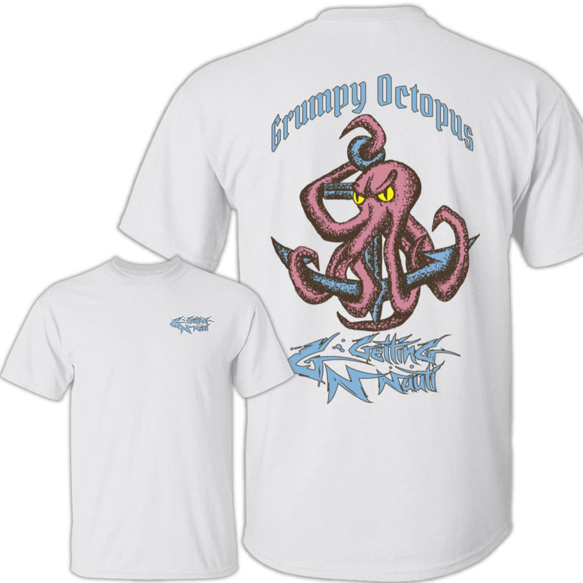 Grumpy Octopus - Cotton T-Shirt