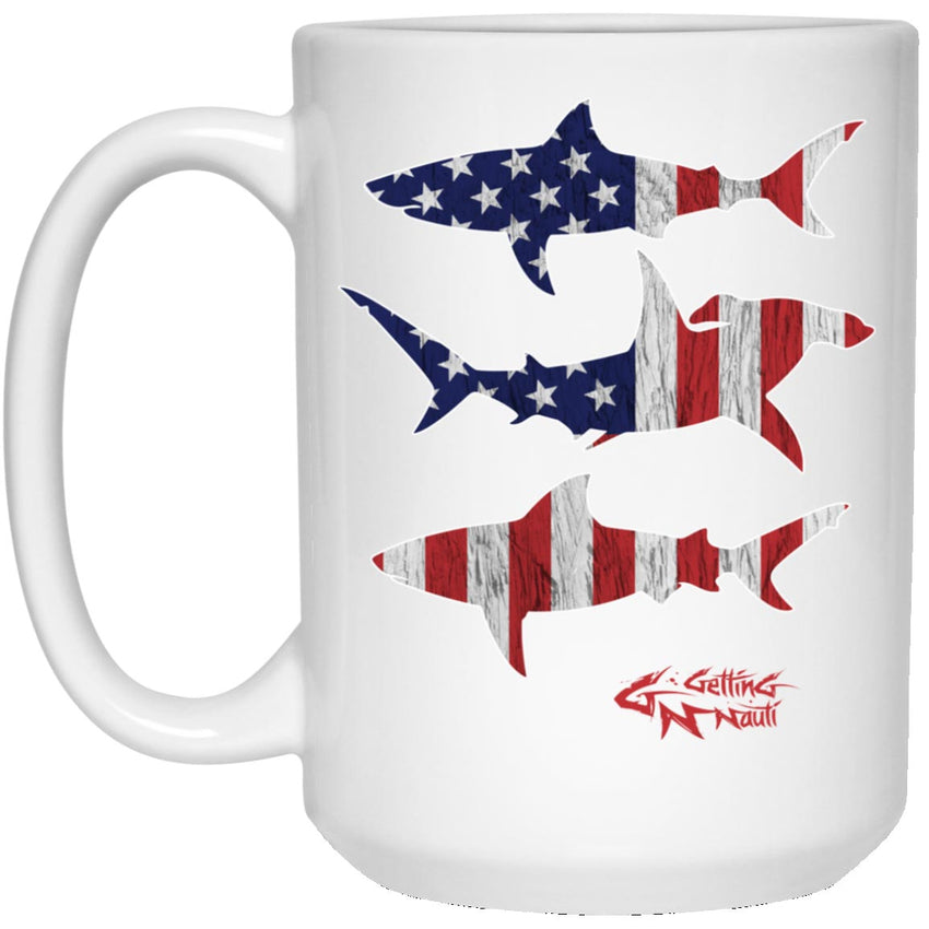 Patriot Sharks Mugs