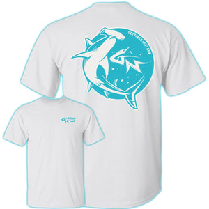 Retro Hammerhead - Cotton T-Shirt