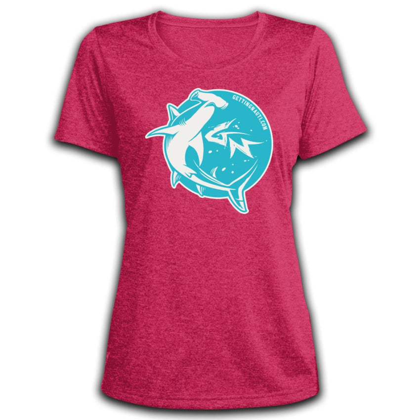 Retro Hammerhead - Ladies' Dri-Fit Moisture-Wicking T-Shirt