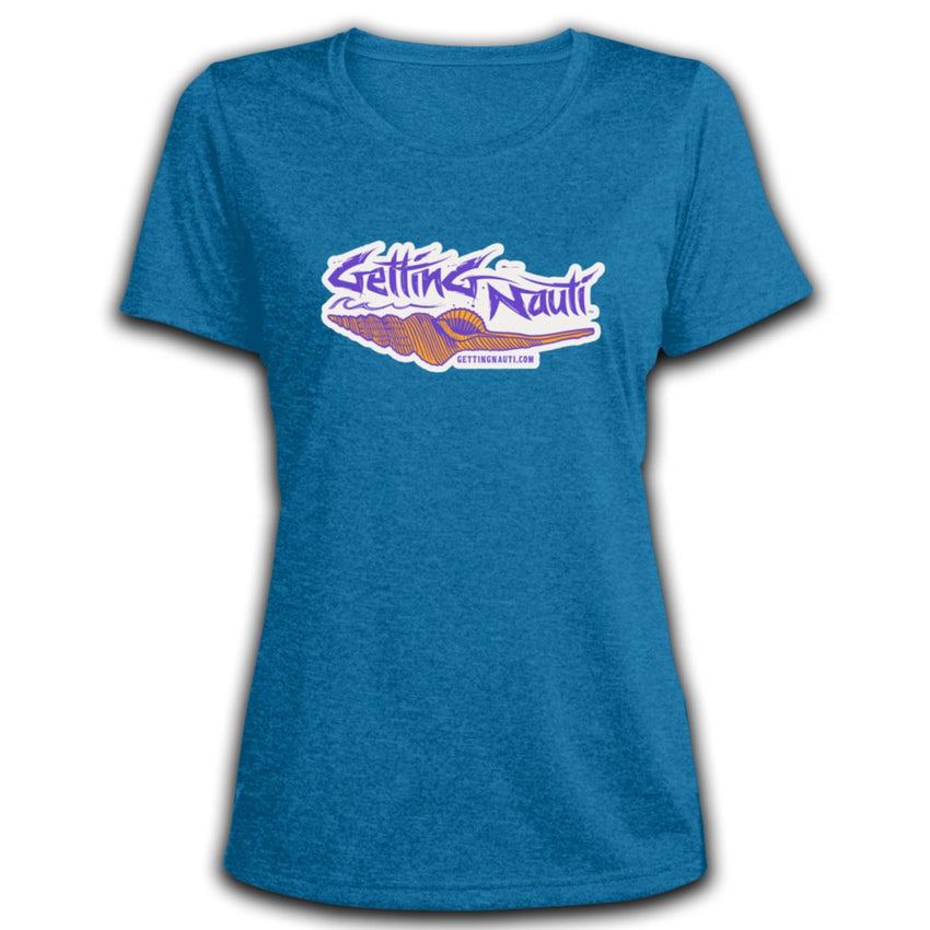 Retro Shell - Ladies' Dri-Fit Moisture-Wicking T-Shirt