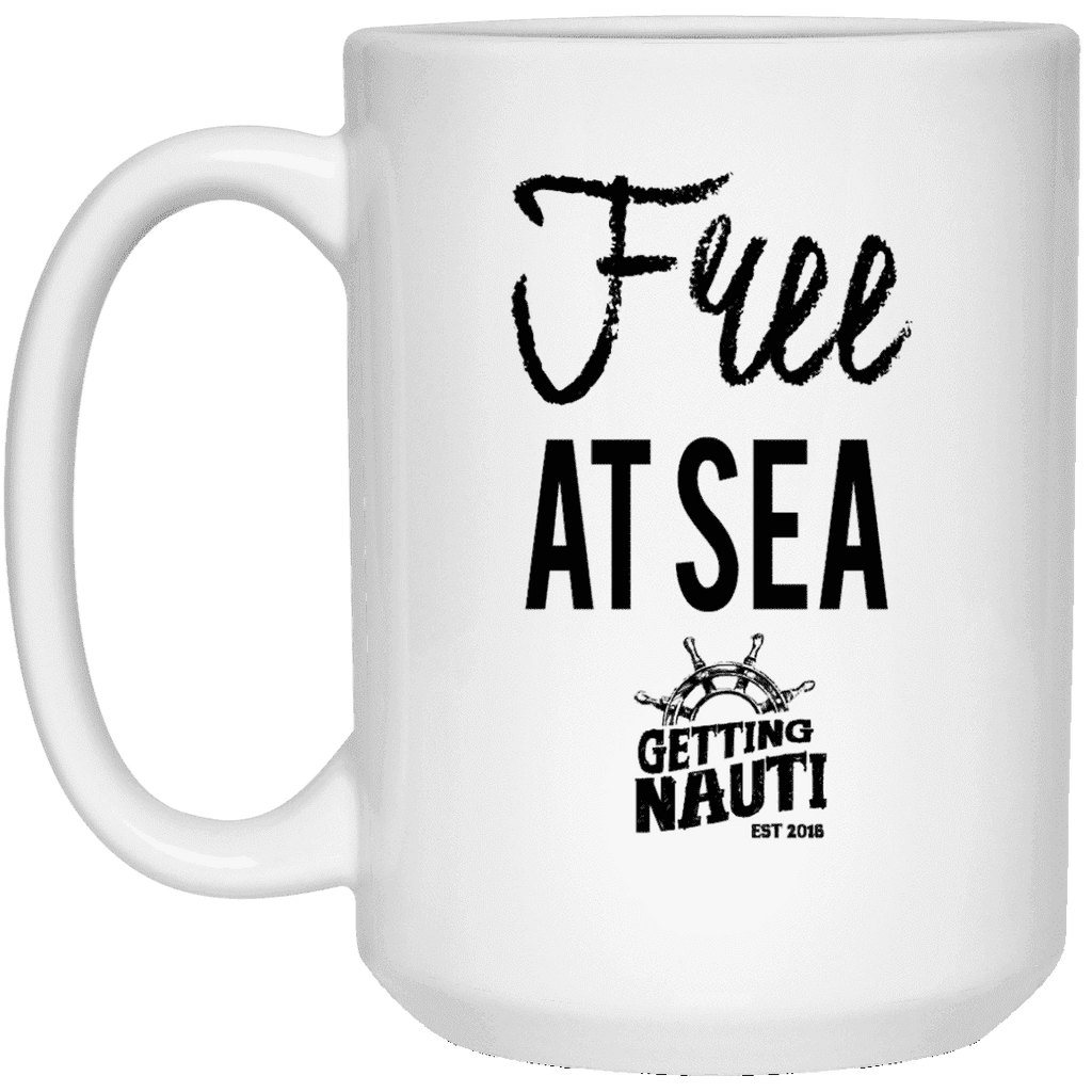 Drinkware - Free At Sea - 15oz Mug