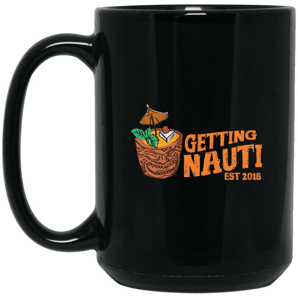 Drinkware - Tiki Drink - 15oz. Black Mug