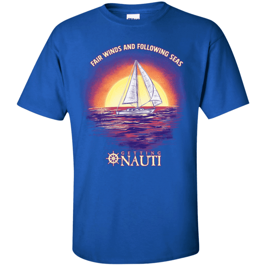 Short Sleeve - Fair Winds - Cotton T-Shirt