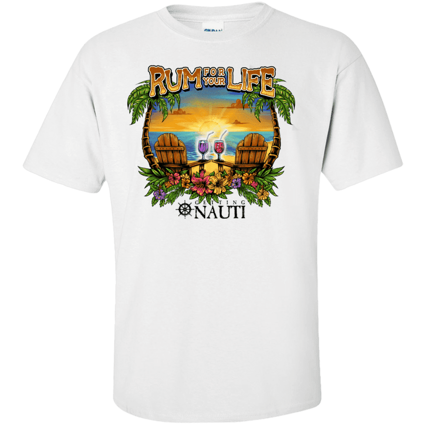 Short Sleeve - Rum For Your Life - Cotton T-Shirt