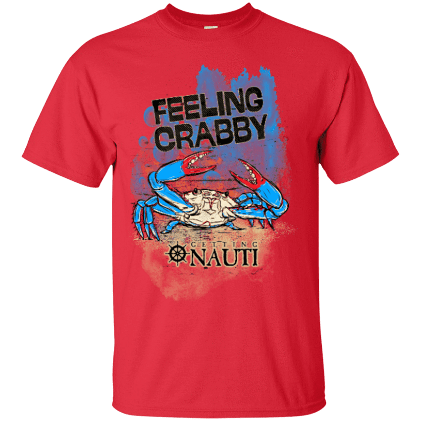 T-shirt - Feeling Crabby - Cotton T-Shirt