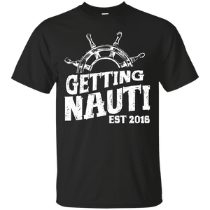 T-shirt - Getting Nauti Logo - Cotton T-Shirt