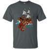 Happiness Comes in Waves - Cotton T-Shirt