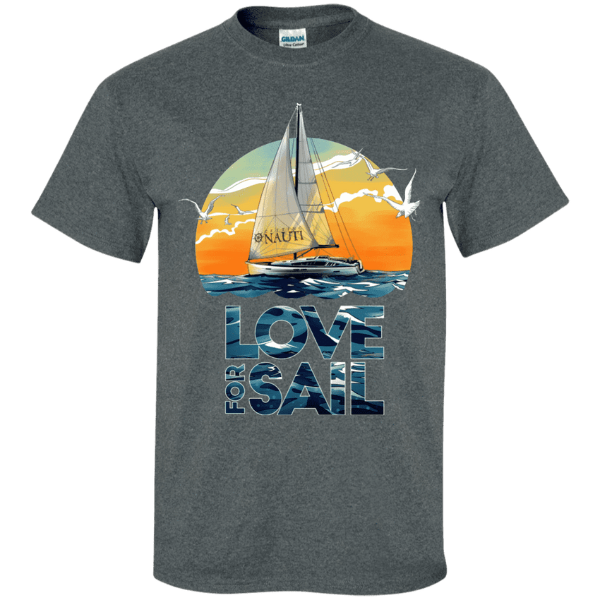 T-shirt - Love For Sail - Cotton T-Shirt