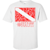 T-shirt - Sea Life Dive Flag - Cotton T-Shirt