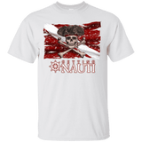 T-Shirts - Pirate Dive Flag - Cotton T-Shirt