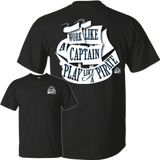 T-Shirts - Play Like  A Pirate -  Cotton T-Shirt