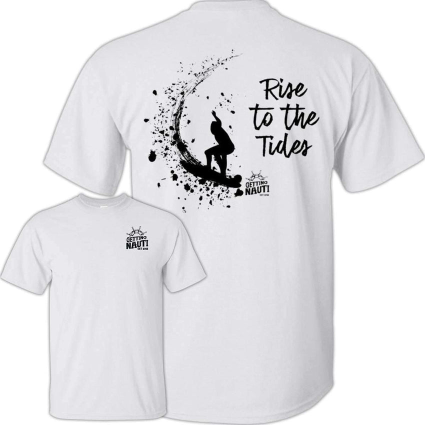 T-Shirts - Rise To The Tides - Cotton T-Shirt