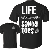 T-Shirts - Sandy Toes - Cotton T-Shirt