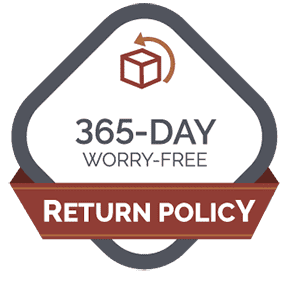 Image of 365 Day Worry-Free Guarantee