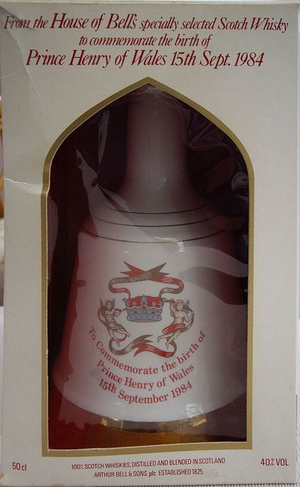 Bells Decanter, Prince Harry Birth