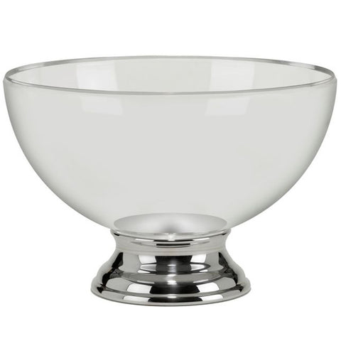 Champagne Bowl - Polycarbonate with Stainless Steel Base