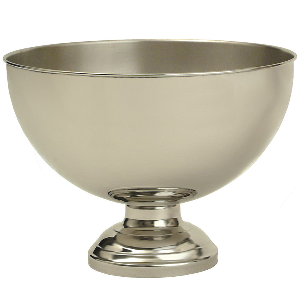 Champagne Bowl - Polished Stainless Steel & Brushed Interior 39cm