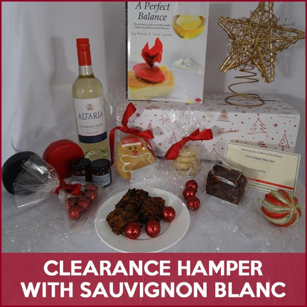 Clearance Christmas Hamper with Sauvignon Blanc