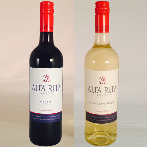 2 Bottle Chilean Wine Gift by Post