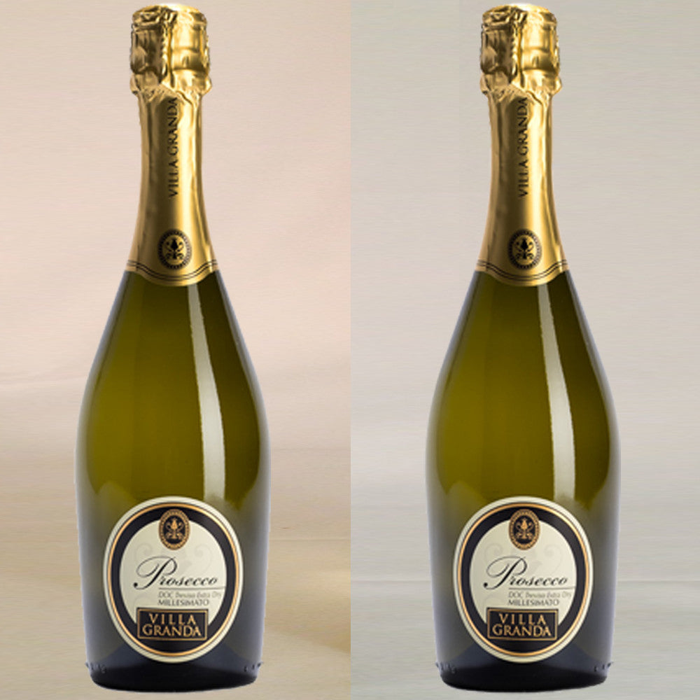 2 Bottle Sparkling Wine Gift by Post